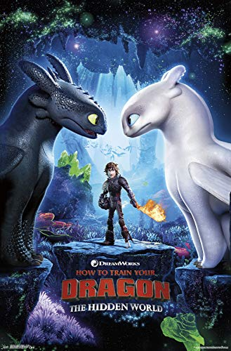 Trends International How to Train Your Dragon 3 - Key Art Wall Poster 22.375