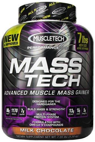 Supplément de performance Muscletech Masstech, Chocolat au lait, 7,05 Pound