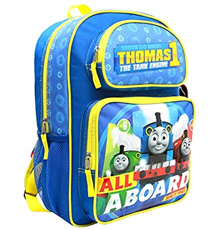 a831ca0265d Backpack - Thomas The Tank Engine - All a Board Blue 16