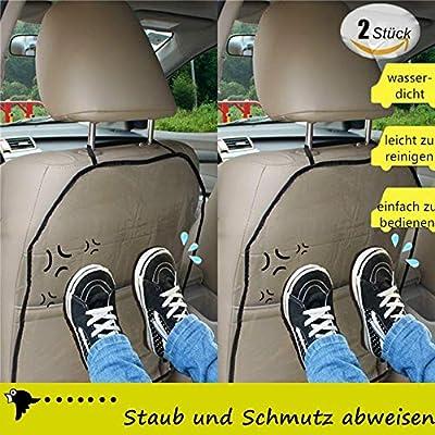 Protector de asiento de coche para niños, protección para el ...