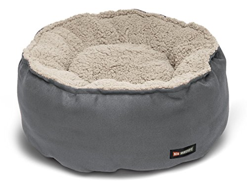 Big Shrimpy Catalina Plush Pet Bed for Cats and Small Dogs, Medium, - Catalina Bed Big Shrimpy