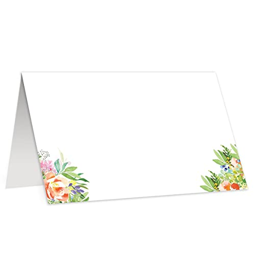 amazon com 50 simple bloom escort cards wedding place cards