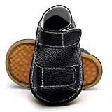 HONGTEYA Summer Baby Boys Girls Sport Sandals PU Anti Slip Hard Soled Moccasins Toddler Shoes Sneakers
