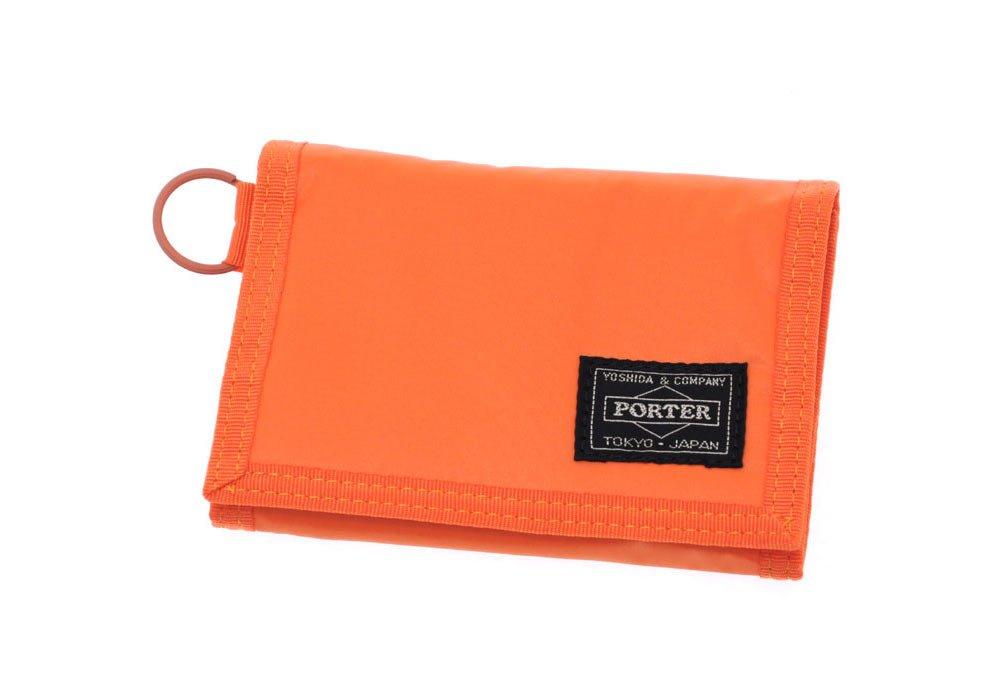 PORTER 三つ折り財布 [CAPSULE/カプセル] 555-06439 B00KMJ0BIA 3.オレンジ 3.オレンジ