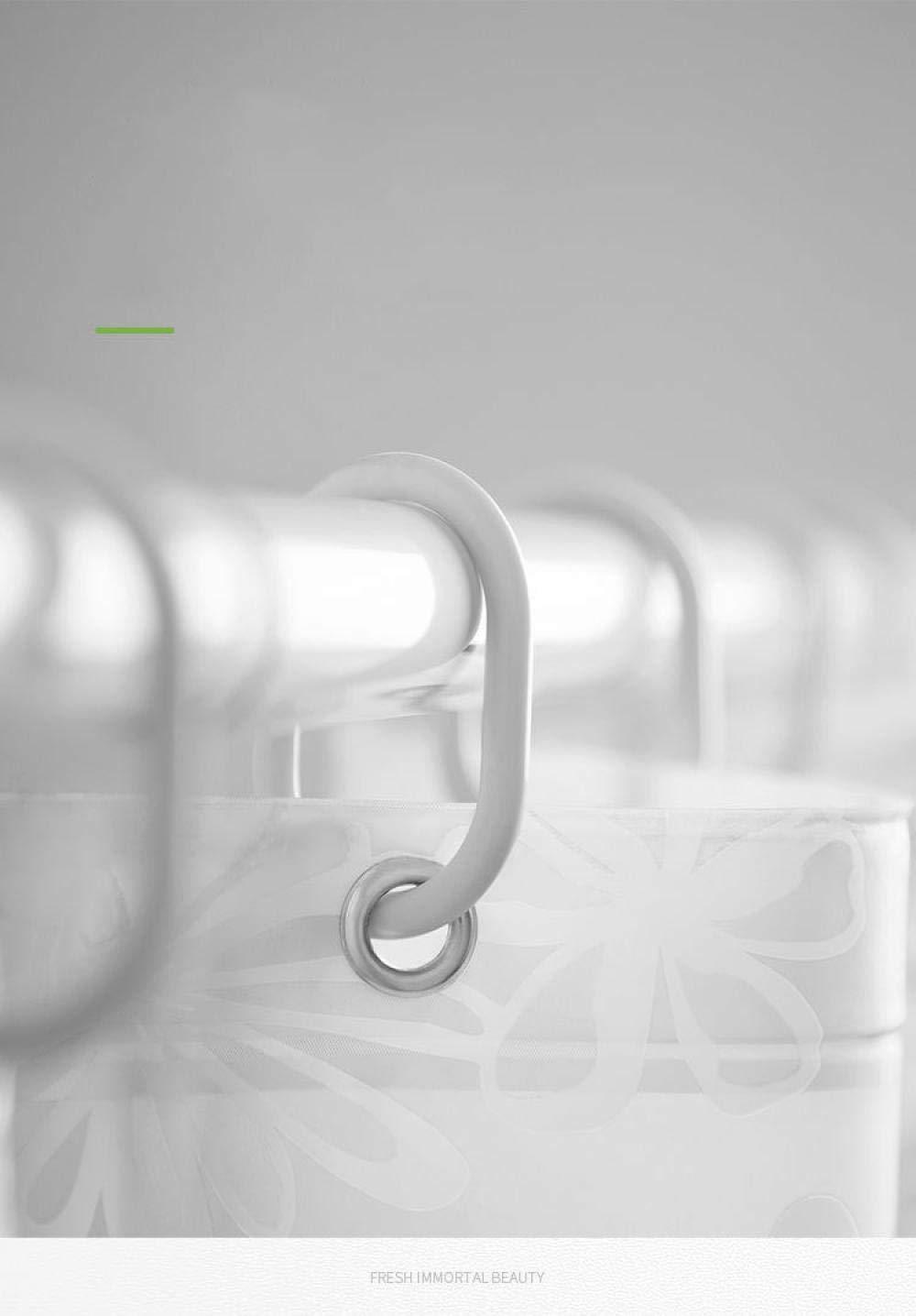 vitila Tenda da Doccia Tende da Bagno traslucide Impermeabili e antimuffa in plastica Tenda da Bagno per casa 80x180/_PEVA Bianco