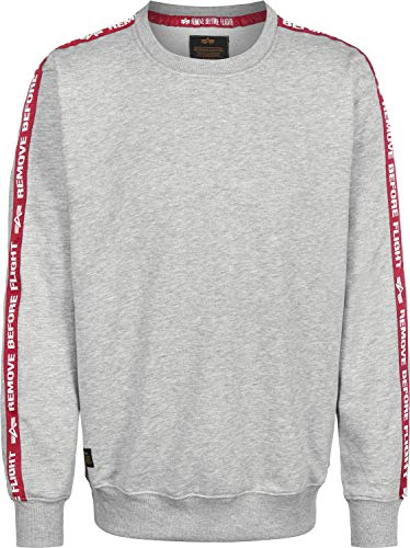 Neck Chiné Taped Grey Sweat Crew Shirt Gris Alpha Rbf Industries Heather n4qBwIP