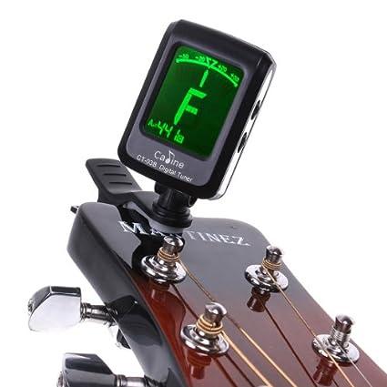 Andoer® 5 * Afinador Digital Clip LCD para Guitarra Bass Violin (5 unidades): Amazon.es: Instrumentos musicales