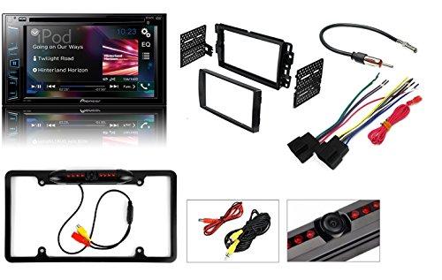 2006-2015 Chevrolet GMC Silverado Sierra Savana CDD/DVD/USB/Bluetooth Car Stereo+ Nightvision Cam