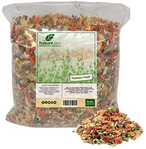 Mixed Vegetable Soup - Kosher Vegetable Soup Blend Dried Dehydrated Vegetable Flakes (2 Pounds)