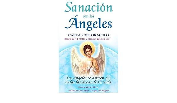 SANACION CON LOS ANGELES LIBRO Y 44 CARTAS DEL ORACULO ...
