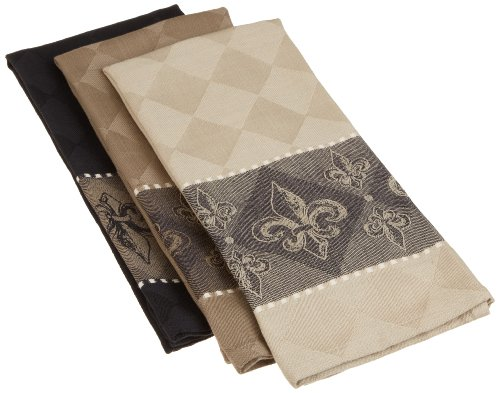 DII Cotton Jacquard Dish Towels, 20x28