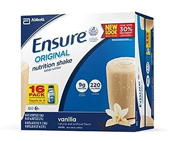 Ensure Original Nutrition Shake, Vanilla, 8 Ounces, 16 Count