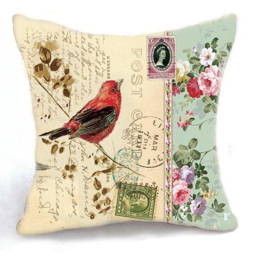 Loool 18 x 45,72 cm cuadrado lino y algodón decoración del ...