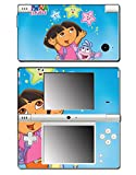 Dora the Explorer Backpack Boots Map Iguana Diego Video Game Vinyl Decal Skin Sticker Cover for Nintendo DSi System