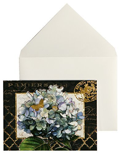 C.R. Gibson Boxed Notecards, 10-Count, Gilded Radiance (CN6-14085) by C.R. Gibson