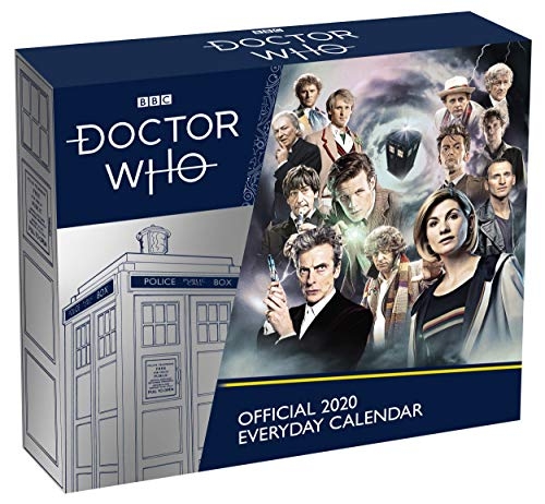 Doctor Who 2020 Desk Block Calendar - Official Desk Block Format Calendar por Doctor Who