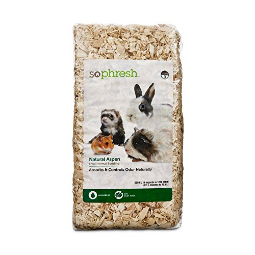 So Phresh Natural Aspen Small Animal Bedding, 500 cu. In.