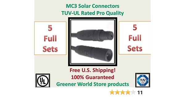 pars original multicontact mc3 solar connect 10 mm² solar panel board 5 Mc3