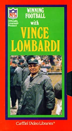 low priced 4339e 079ab Amazon.com: Winning Football with Vince Lombardi: Vince ...