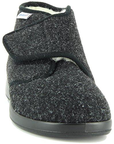 Donna Da Da Varomed Nero Donna Pantofole Pantofole Nero Varomed X4gqwEw