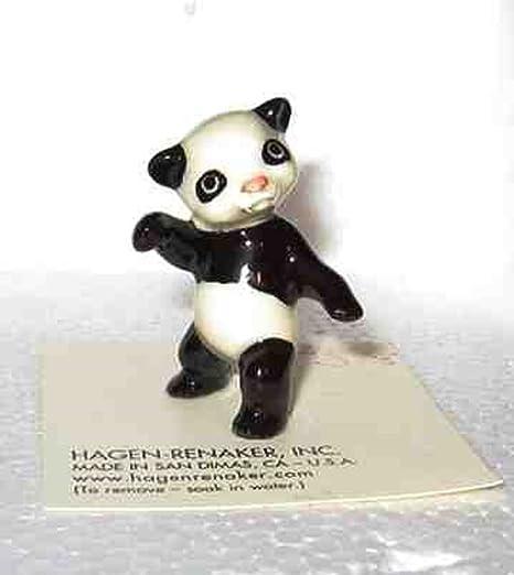 Panda Bear Miniature Figurine Wildlife Model made in USA by Hagen-Renaker