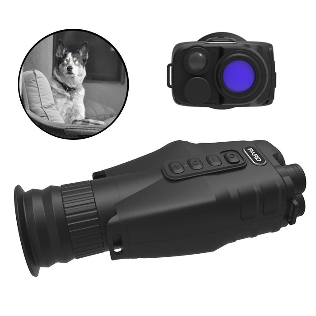 LLP LM 1-24 Times HD Wide Angle Digital Night Vision Monoculars, Optics Zoom Amplification Undistorted Telescope, 3400 Mah High Capacity Lithium Battery, for Outdoor Trip Camping Night Watching by LLP LM