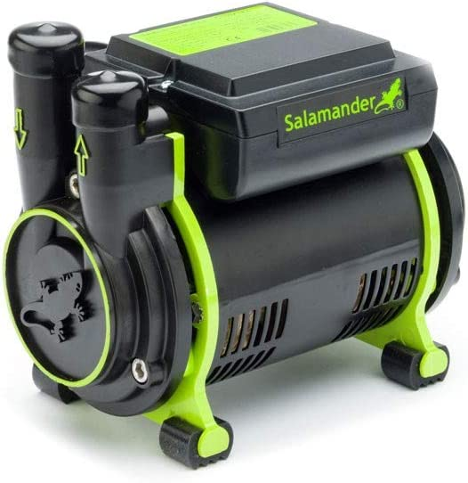 Salamander CT85XTRA Shower Single Booster Pump 2.5 Bar CT85 Xtra + AV Hoses