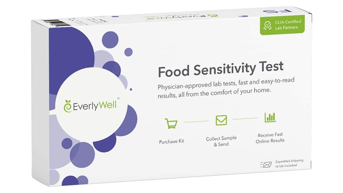 EverlyWell - at-Home Food Sensitivity Test Kit - As Seen On Shark Tank (Not Available in MD,New York, NJ, RI)