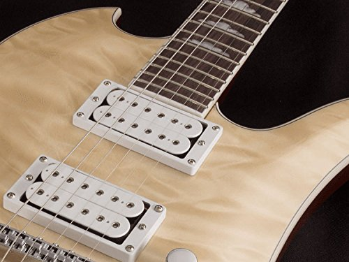 Guitarras eléctricas BC Rich Mockingbird Contour Deluxe Brillo Natural Metal - Moderno: Amazon.es: Instrumentos musicales