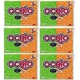 O-cel-O Handy Sponge 7274-t, 4-count (Pack of 6)