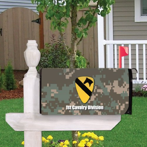 Cavalry Box - VictoryStore Outdoor Mailbox Cover - Military, 1st Cavalry Division, Magnetic Mailbox Cover