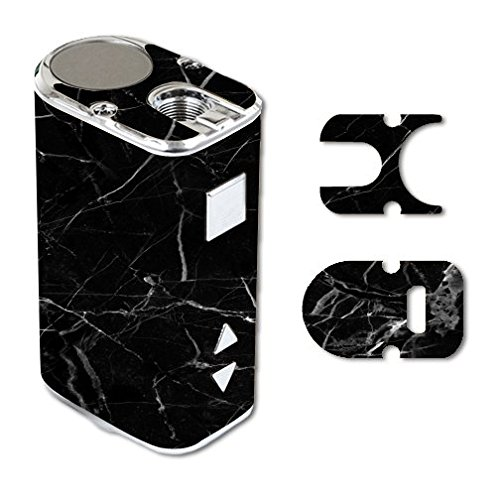 Eleaf iStick 10W Mini Vape E-Cig Mod Box Vinyl DECAL STICKER Skin Wrap / Black Marble Background Pattern