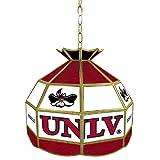 NCAA UNLV Tiffany Gameroom Lamp, 16''