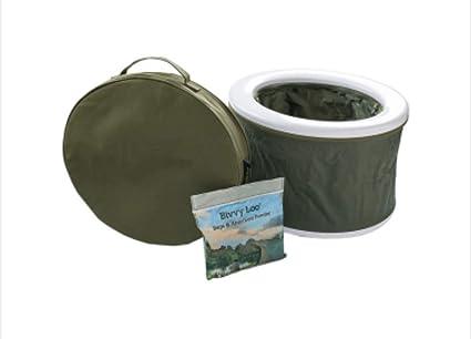 Portable Camping Toilet : Bivvy loo portable camping toilet festival toilet fishing toilet
