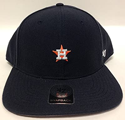 47 Brand MLB Houston Astros Small Logo Black Snap Back LR508054824
