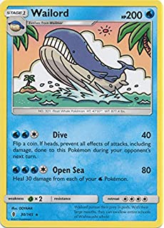Cosmic Eclipse 4x Wailord Rare Nm Mint Pokemon Sm12 46 236 Toys Hobbies Collectible Card Games