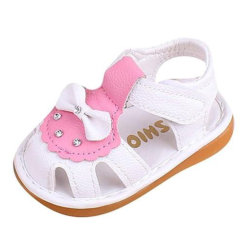 Conquro Sandalias Bebe Niña Verano, Zapatos de Princesa Niña ...
