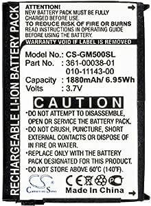 Batteries AMZBTY 1880mAh Battery for Garmin 010-11143-00 361-00038 ...