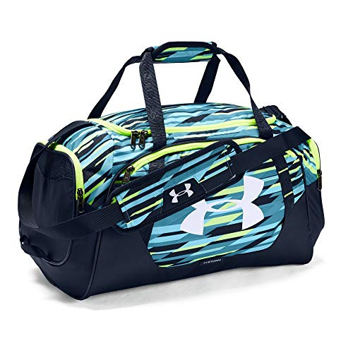 Under Armour Undeniable 3.0 Small Duffle Bag, Venetian Blue (448)/White, One Size