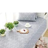 YU&AN Sofa slipcover,Fashion Slip Sofa Cover Towel Sets,Fabric Sofa Cushioning Cotton,for Cushions Bay Window Cushion Sill pad-C 90x180cm(35x71inch)