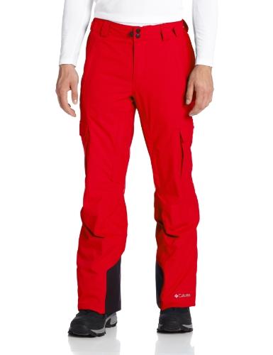 (Columbia Men's Ridge 2 Run II Pant, Bright Red, XX-Large/Regular)