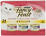 Fancy Feast Gourmet Cat Food Grilled 3-Flavor Variety, 24 ct, 3 oz Review