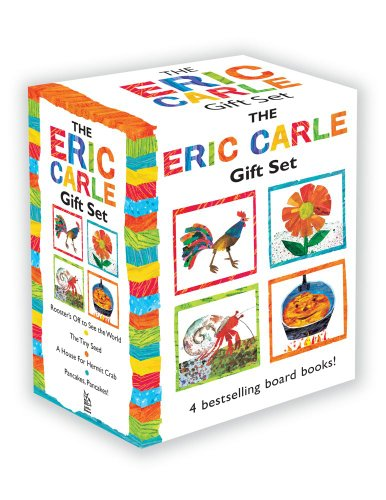 The Eric Carle Gift Set: The Tiny Seed; Pancakes, Pancakes!; A House for Hermit Crab; Rooster's Off to See the World (The World of Eric -