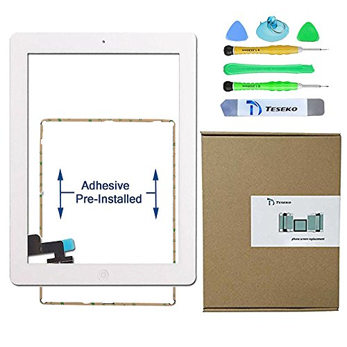 Touch Digitizer for iPad 4 with home button White - 9
