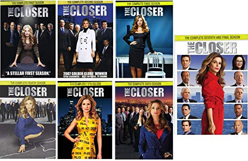 The Closer Complete Series Seasons 1-7 (Best Episodes Of The Closer)