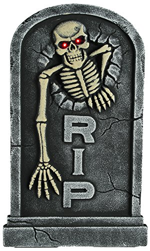 Halloween ~ Trick or Treat ~ R.I.P TOMBSTONE ~ Novelty by EuroDiscount OB