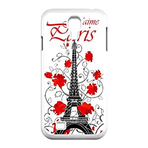 SamSung Galaxy S4 I9500 2D Customized Hard Back Durable Phone Case with Eiffel Tower Image