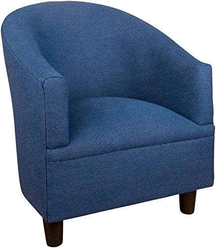 Skyline Kids Tub Chair, Denim Blue
