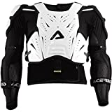 Acerbis Cosmo Deflector with Jacket (White/Black, XX-Large)