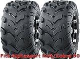2 WANDA ATV tires 18x9.5-8 18x9.5x8 Alphasport Kolt/Cobra 90 rear P311